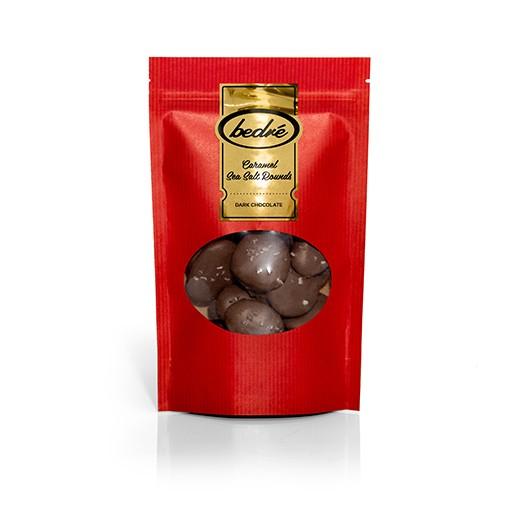Dark Chocolate Caramel Sea Salt Rounds