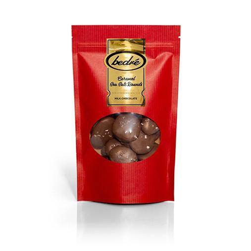 Milk Chocolate Caramel Sea Salt Rounds