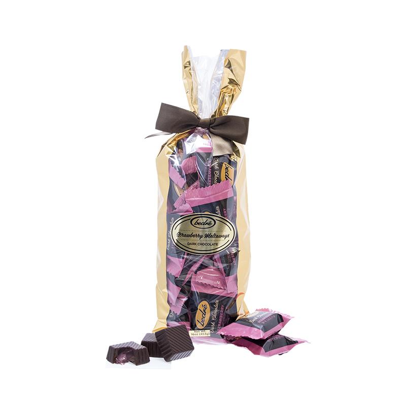 Dark Chocolate Strawberry Meltaway Gift Bag