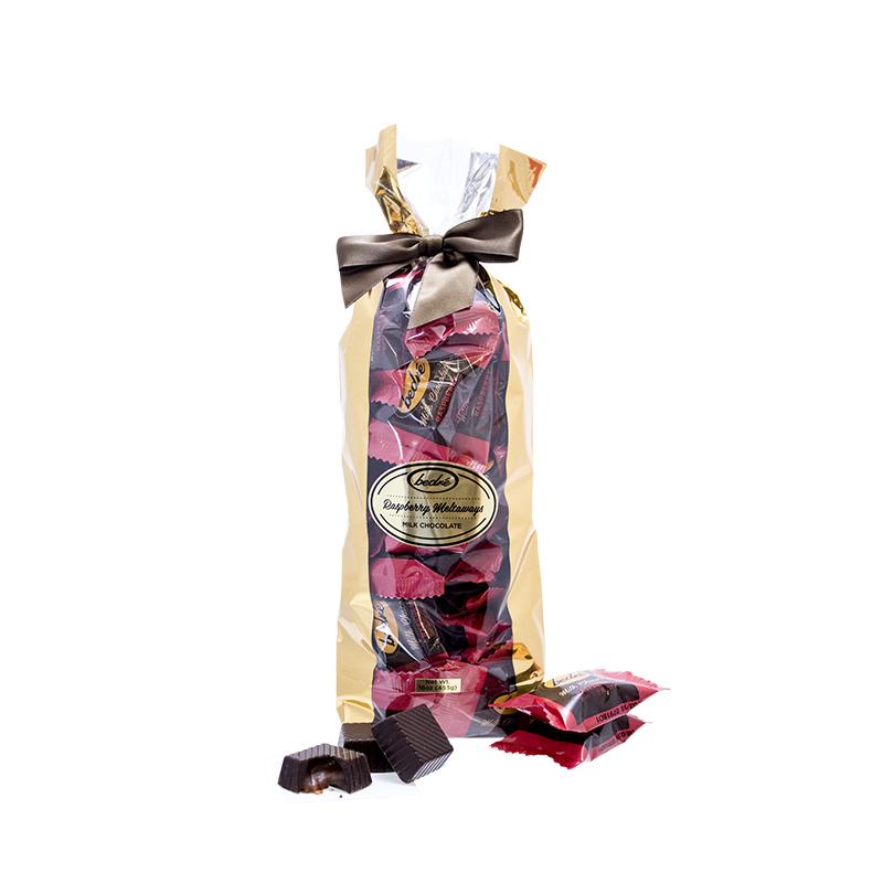 Milk Chocolate Raspberry Meltaway Gift Bag