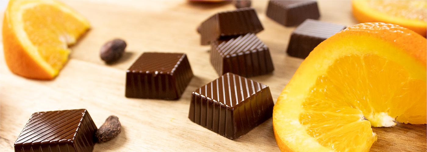 Dark Chocolate Orange Meltaway of the Month